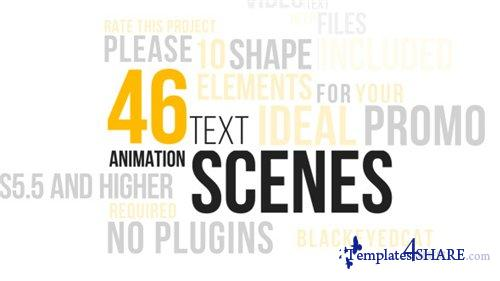 46 Dynamic Text Animations Pack - After Effects Project (Videohive)
