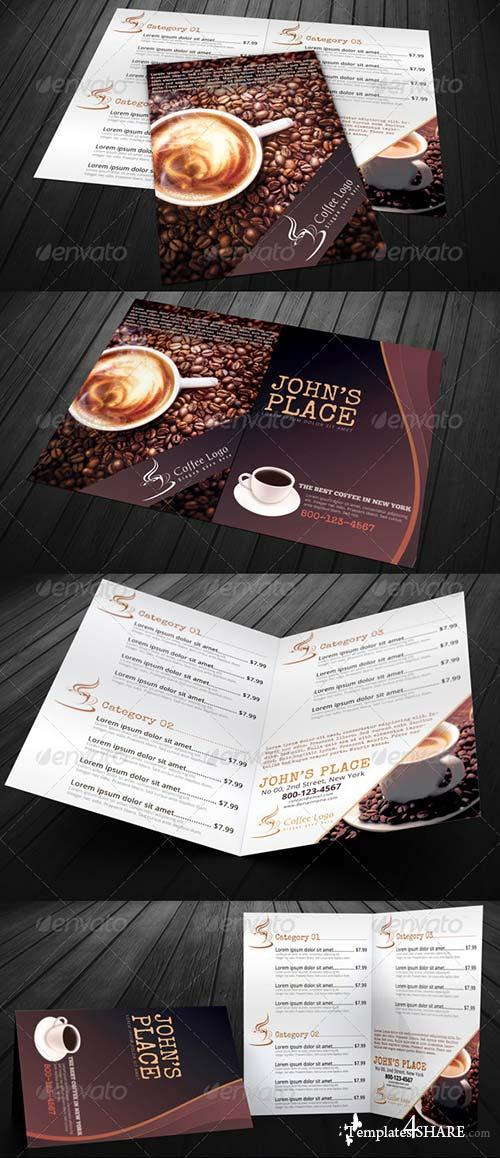 GraphicRiver Food Menu Bundle with Business Card