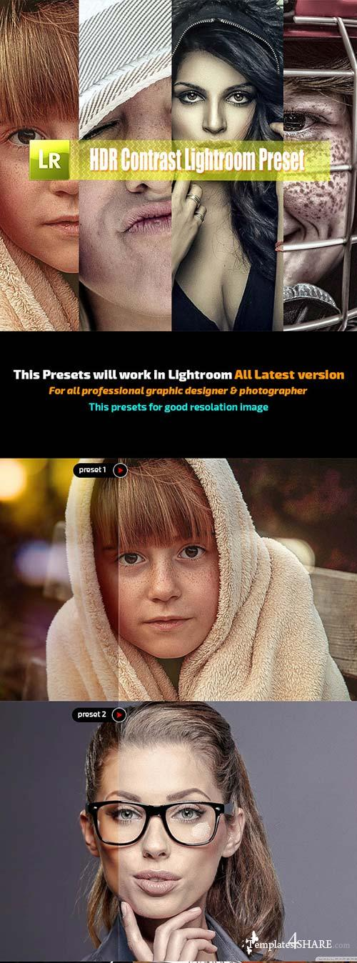 GraphicRiver HDR Contrast Lightroom Preset