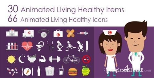 Living Healthy Infographics - After Effects Project (Videohive ...