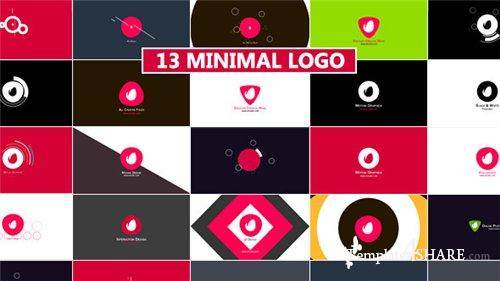 Minimal Logo Reveal Pack - After Effects Project (Videohive)