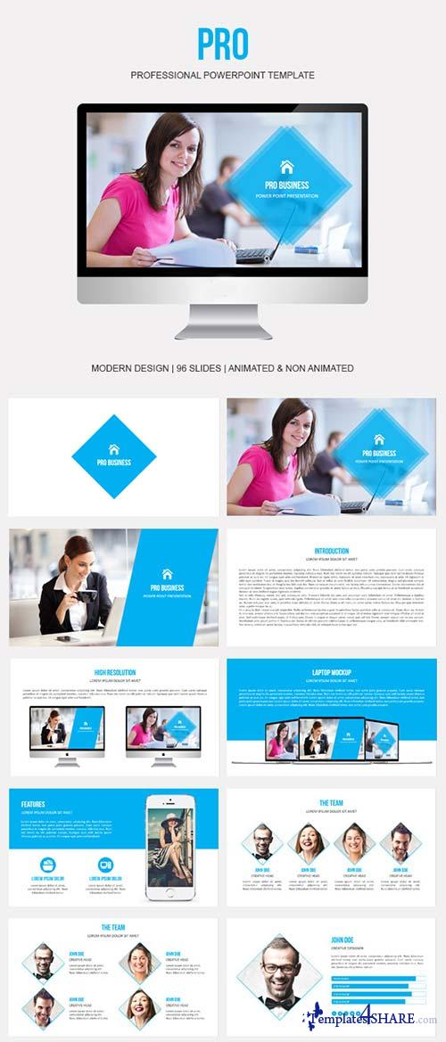 GraphicRiver Pro Powerpoint Presentation Template