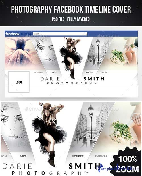 GraphicRiver Photography Facebook Timeline Cover