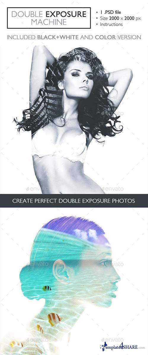 GraphicRiver Double Exposure Machine