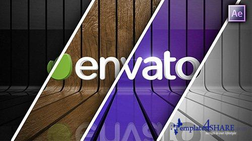 Ribbon Wall Logo Reveal - After Effects Project (Videohive)