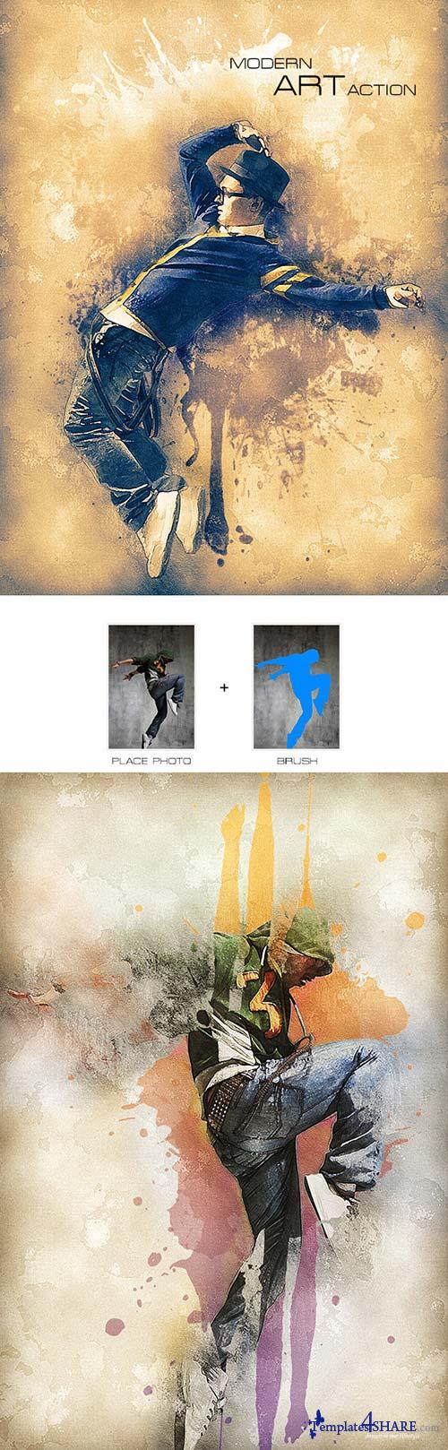 GraphicRiver Modern Art Action