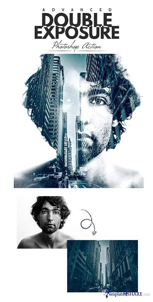 GraphicRiver Double Exposure Action
