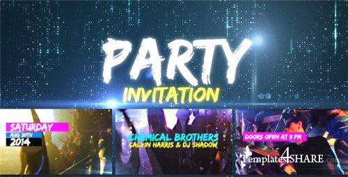 Party Invitation - After Effects Project (Videohive)