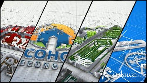 Architect and Architecture Company Logo - After Effects Project (Videohive)