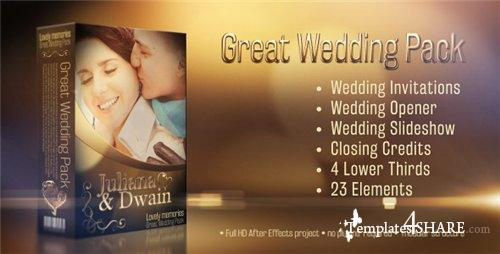 Wedding Pack - Lovely Memories - After Effects Project (Videohive)