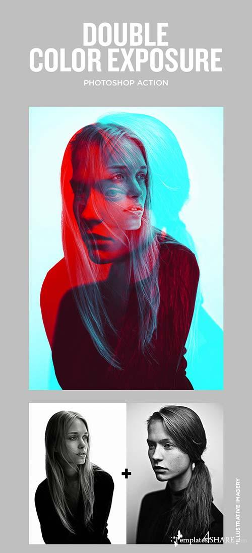 GraphicRiver Double Color Exposure