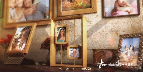 Happy Family Photo Album - After Effects Project (Videohive)