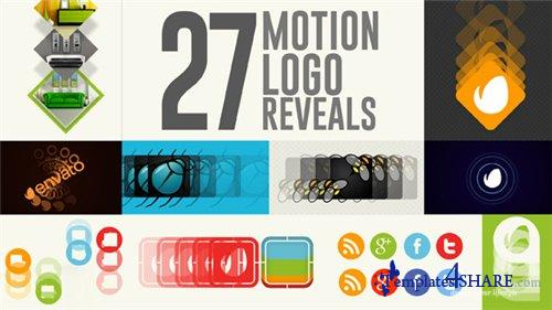 27 Motion Logo Reveals - After Effects Project (Videohive)