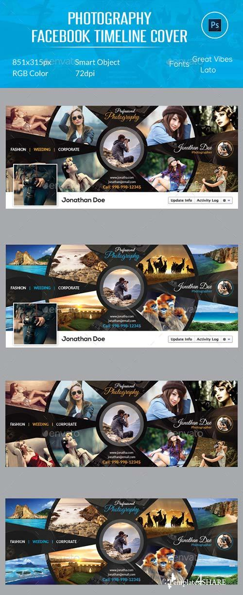 GraphicRiver Photography Facebook Timeline Cover 12261202