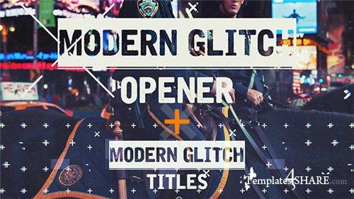 Epic Modern Glitch Opener - After Effects Project (Videohive)