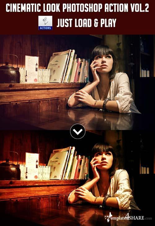GraphicRiver Cinematic Look Photoshop Action [Vol.2]