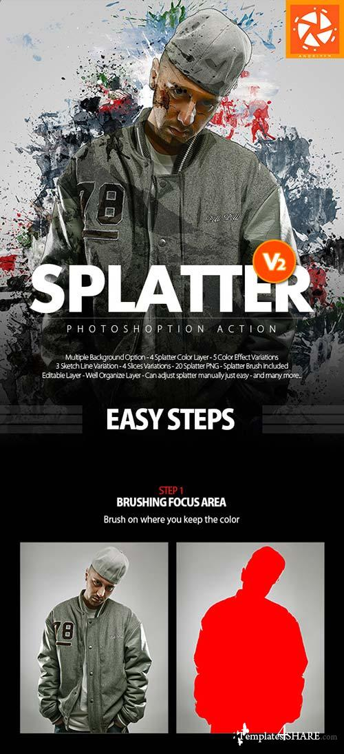 GraphicRiver Splatter V2