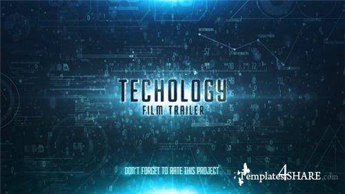Sky Technology Film Trailer - After Effects Project (Videohive)