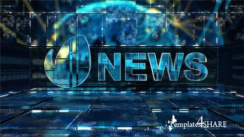 TV News - After Effects Project (Videohive