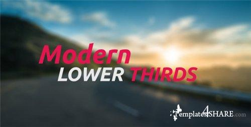 Modern Lower Thirds - After Effects Project (Videohive)