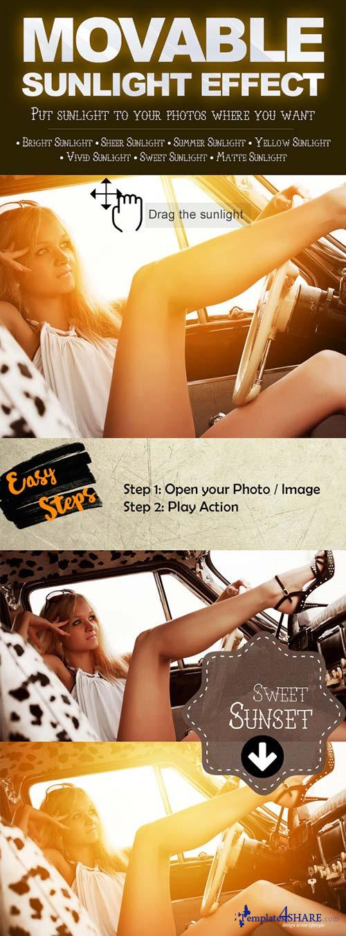GraphicRiver Movable Sunlight Effects Photoshop Actions