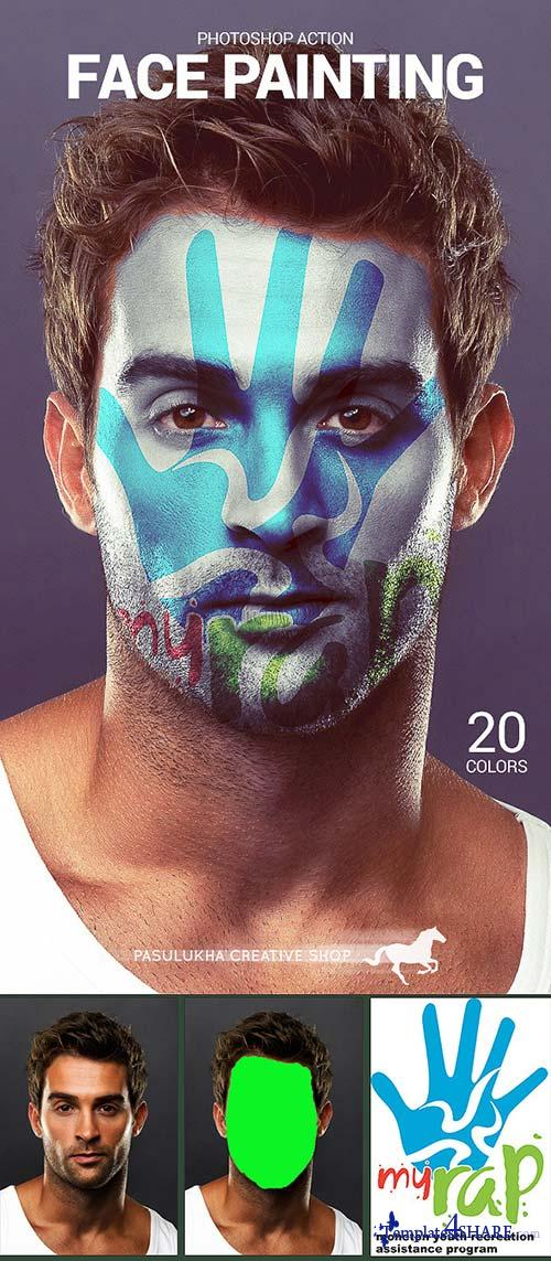 GraphicRiver Face Painting