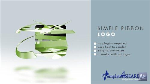 Simple Ribbon Logo - After Effects Project (Videohive)