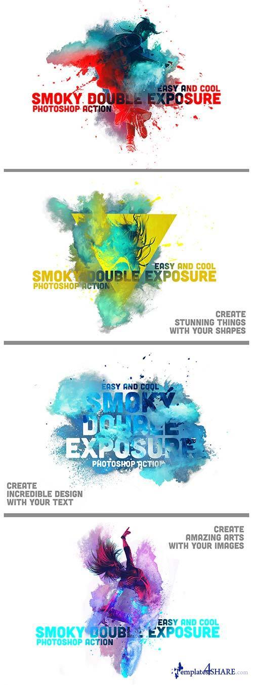 GraphicRiver Smoky Double Exposure