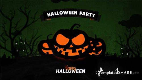 Halloween Party Opener - After Effects Project (Videohive)