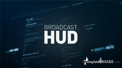 Broadcast HUD - After Effects Project (Videohive)