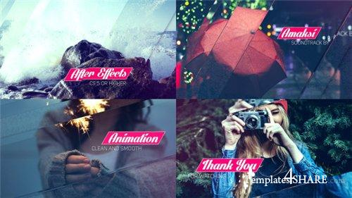 Clean Glass Slideshow - After Effects Project (Videohive)