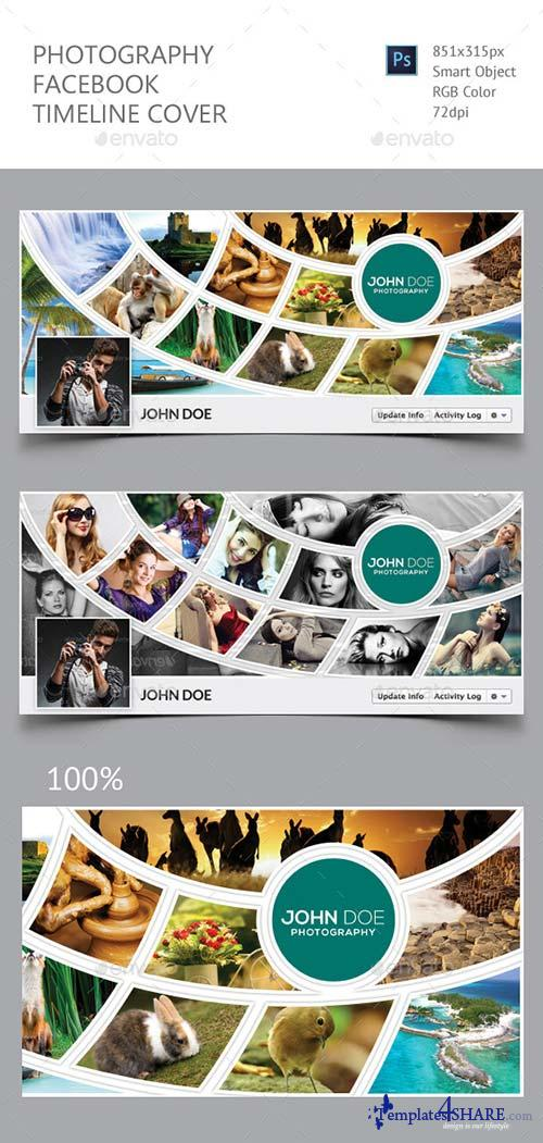 GraphicRiver Photography Facebook Timeline Cover 13163438
