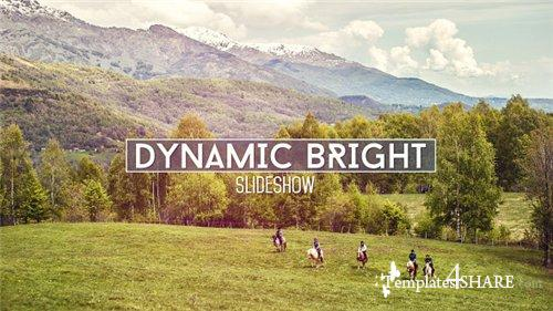 Dynamic Bright Slideshow - After Effects Project (Videohive)