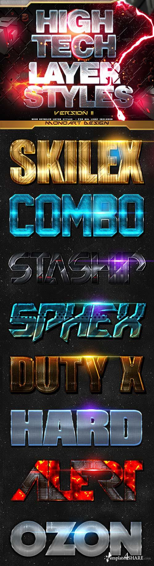 GraphicRiver High Tech Styles II