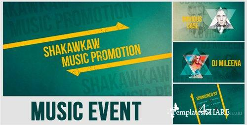 Music Event Promo - After Effects Project (Videohive)