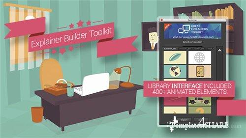 Explainer Builder Toolkit - After Effects Project (Videohive)