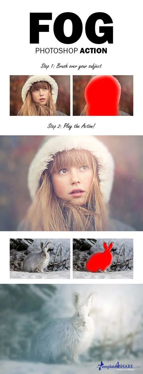 GraphicRiver Fog Photoshop Action