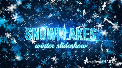 Snowflakes (winter slideshow) - After Effects Project (Videohive)