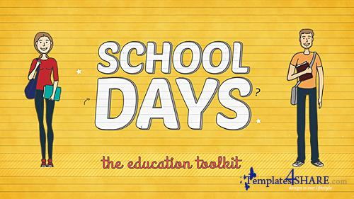 School Days Toolkit - After Effects Project (Videohive)