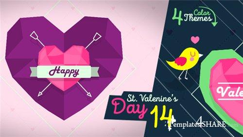 Valentines Day 14439869 - After Effects Project (Videohive)