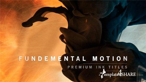 Fundamental Motion Ink Titles - After Effects Project (Videohive)