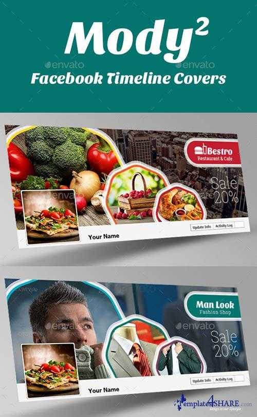 GraphicRiver Mody 2 Facebook Timeline Covers
