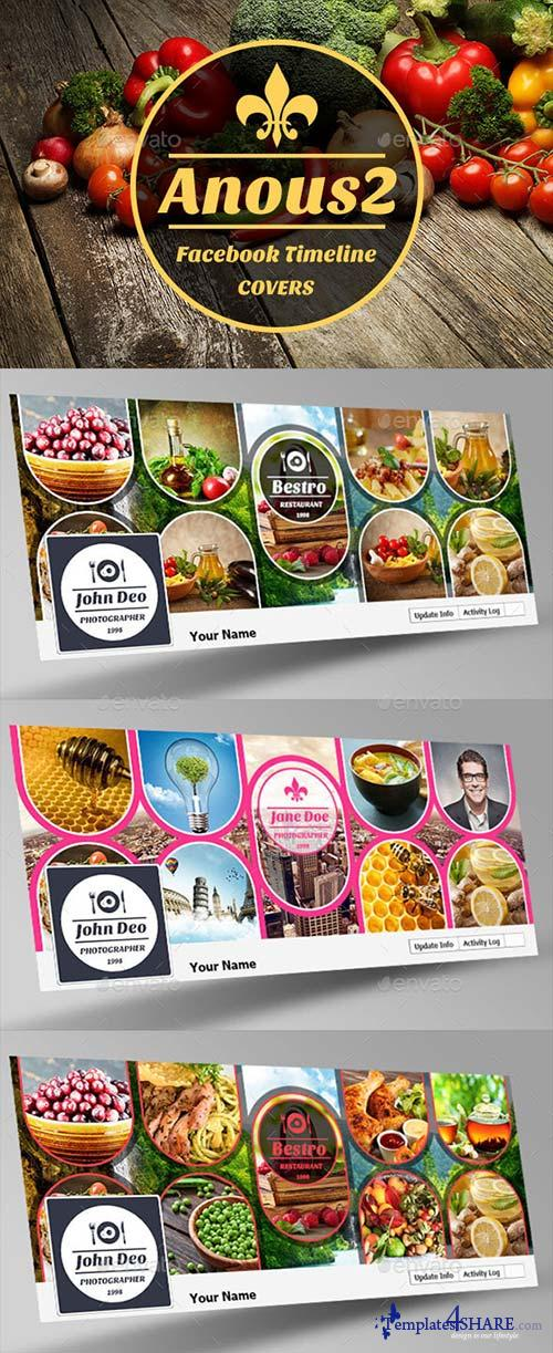 GraphicRiver Anous2 Facebook Timeline Covers