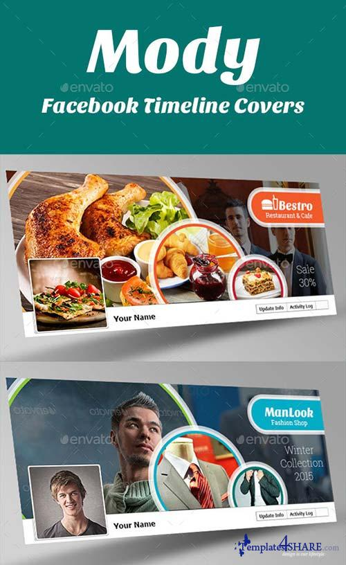 GraphicRiver Mody Facebook Timeline Covers
