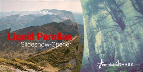 Liquid Parallax - Slideshow Opener - After Effects Project (Videohive)