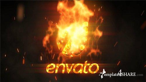 Flame Logo Reveal - After Effects Project (Videohive)