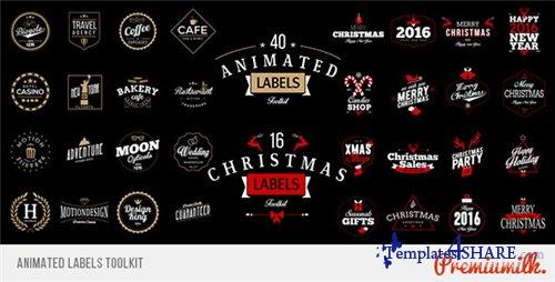 Animated Labels Toolkit - After Effects Project (Videohive)