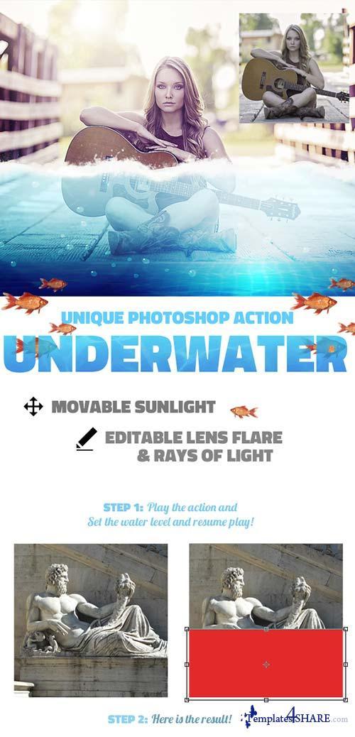 GraphicRiver Underwater Photoshop Action