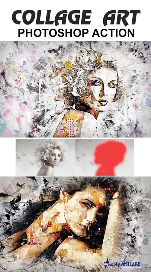 GraphicRiver Collage Art