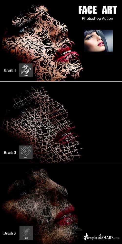 GraphicRiver Face Art